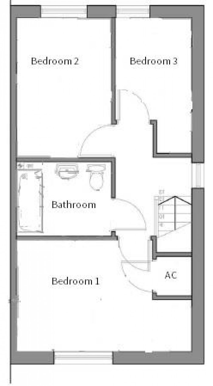 Floorplan for Regency Fields, Tidbury Green, Solihull