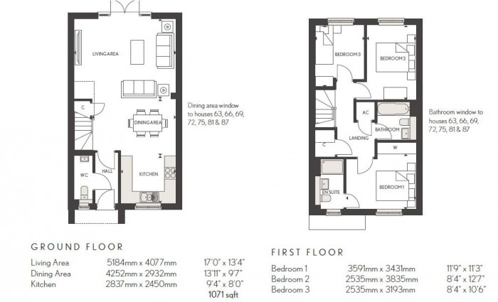 Floorplan for Woodlands Park, Blythe Gate, Solihull