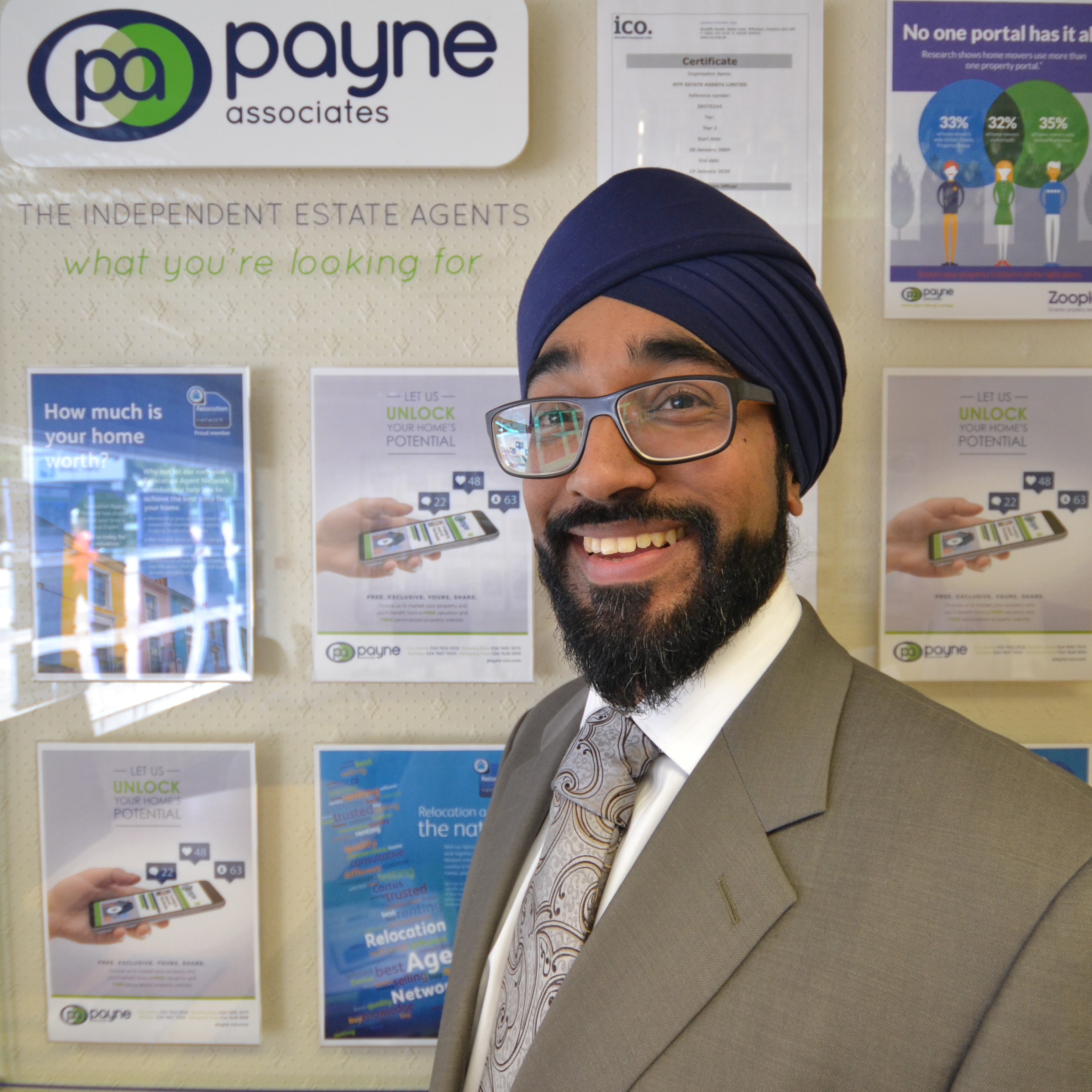 Mandeep Tatter, Property Manager
